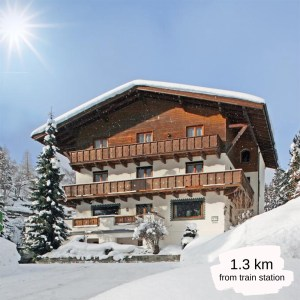Hotels Near Trains | St Anton am Arlberg | Haus Scheibler