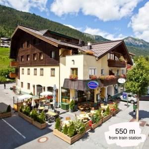 Hotels Near Trains | St Anton am Arlberg | Hotel Montfort