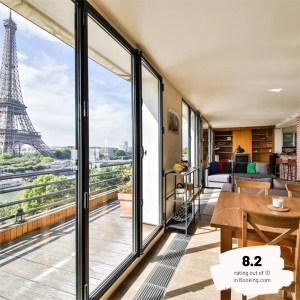 Hotels Near Trains | Paris | Eiffel Tower | Eiffel Terraces