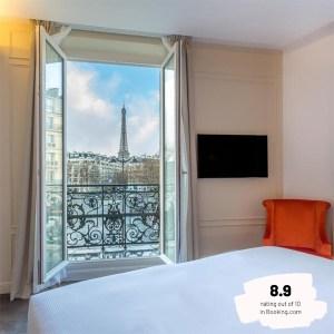 Hotels Near Trains | Paris | Eiffel Tower | Hôtel La Comtesse