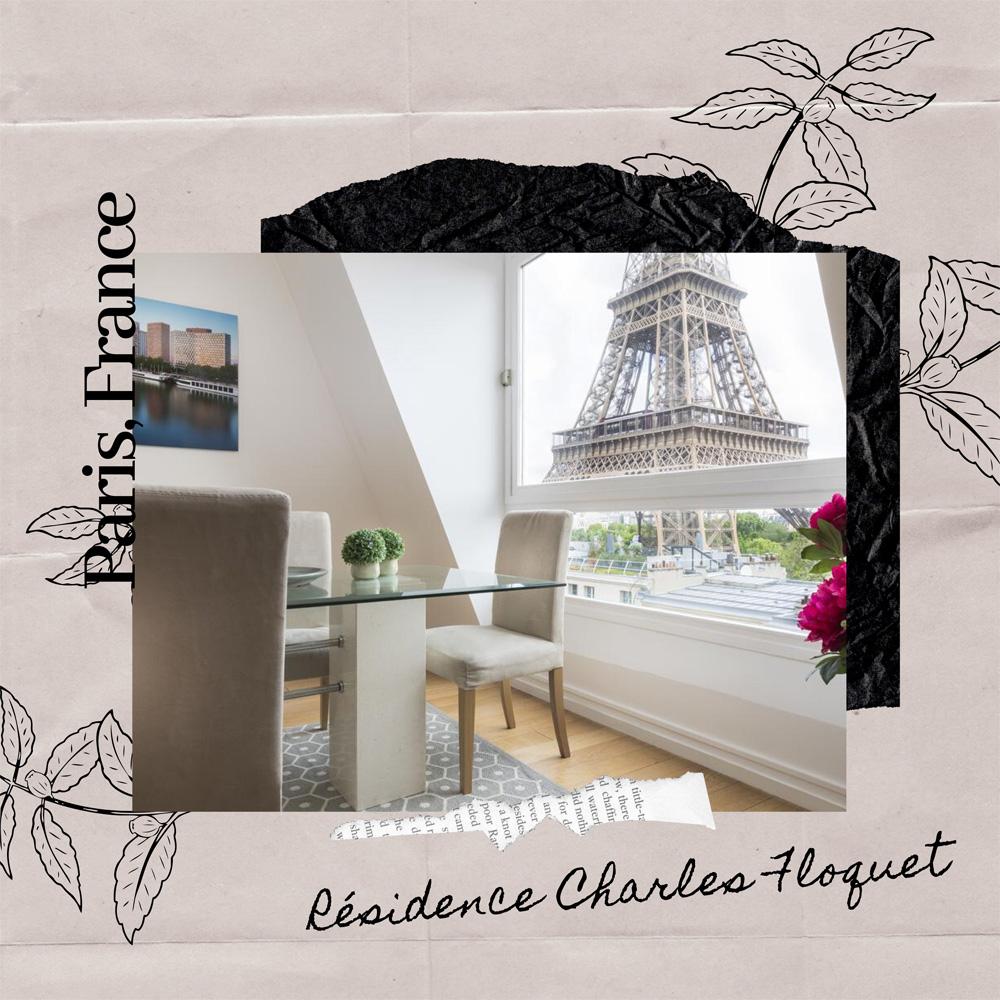 Hotels Near Trains | Paris | Résidence Charles Floquet