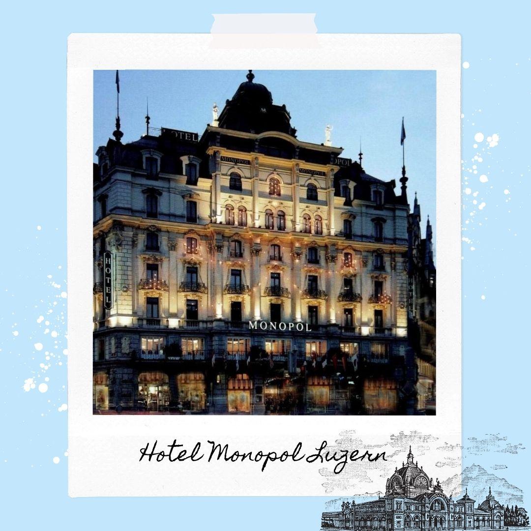Hotels Near Lucerne Train Station - Hotel Monopol Luzern