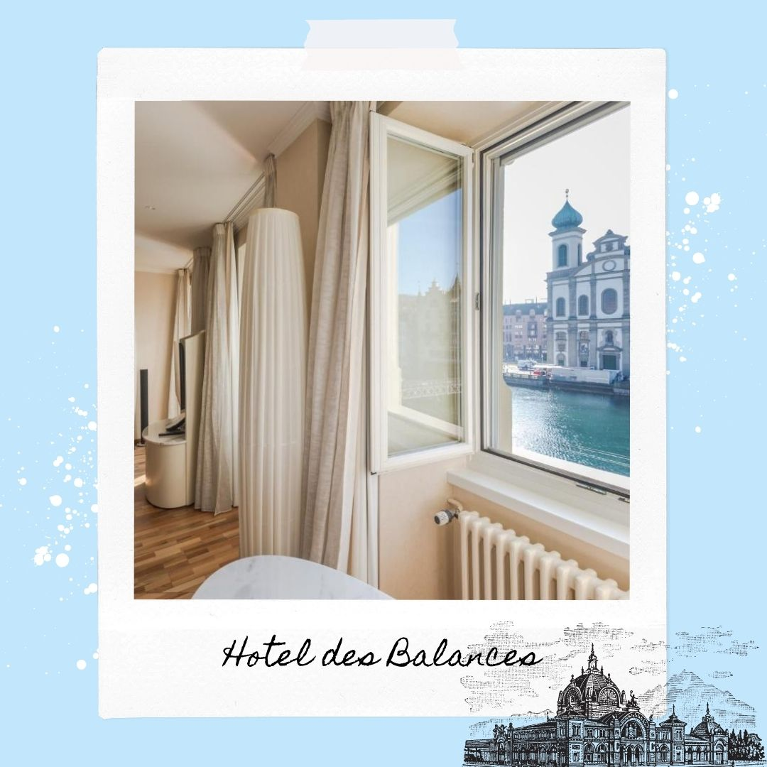 Hotels Near Lucerne Train Station - Hotel des Balances