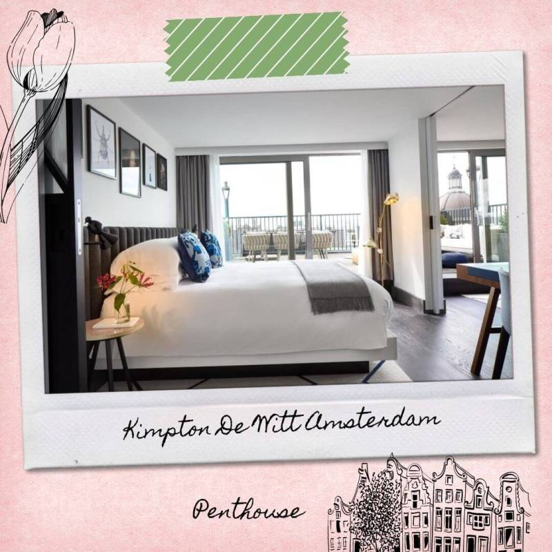 Hotels Near Amsterdam Central Train Station - Kimpton De Witt Amsterdam - Penthouse
