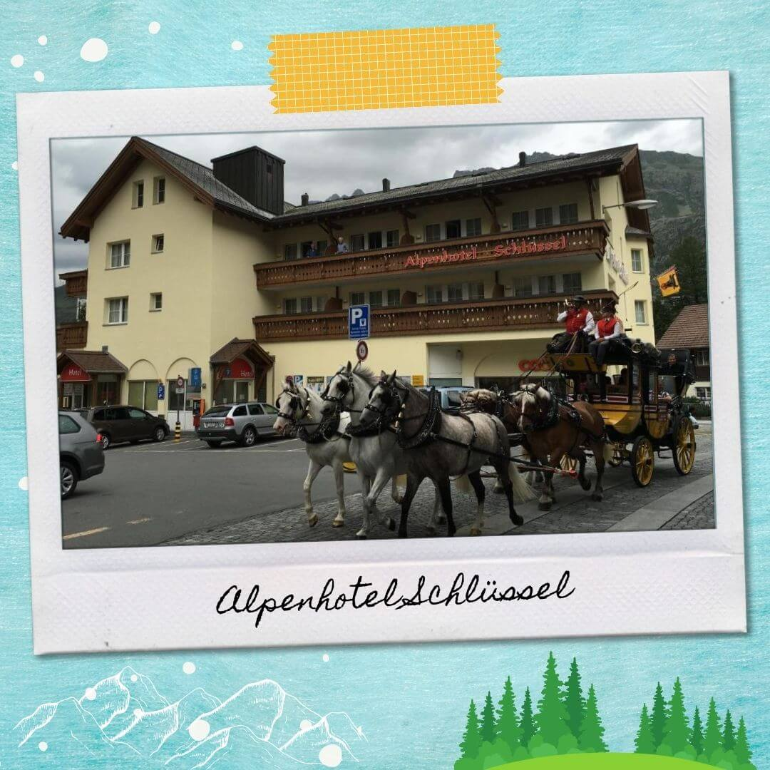 Hotels Near Andermatt Train Station - Alpenhotel Schlüssel