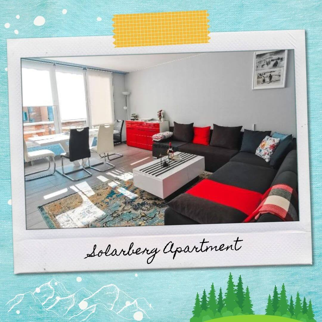 Hotels Near Andermatt Train Station - Solarberg Apartment