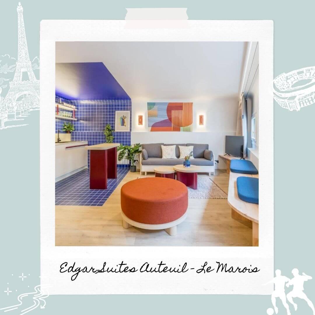 Hotels Near Parc des Princes - Edgar Suites Auteuil - Le Marois
