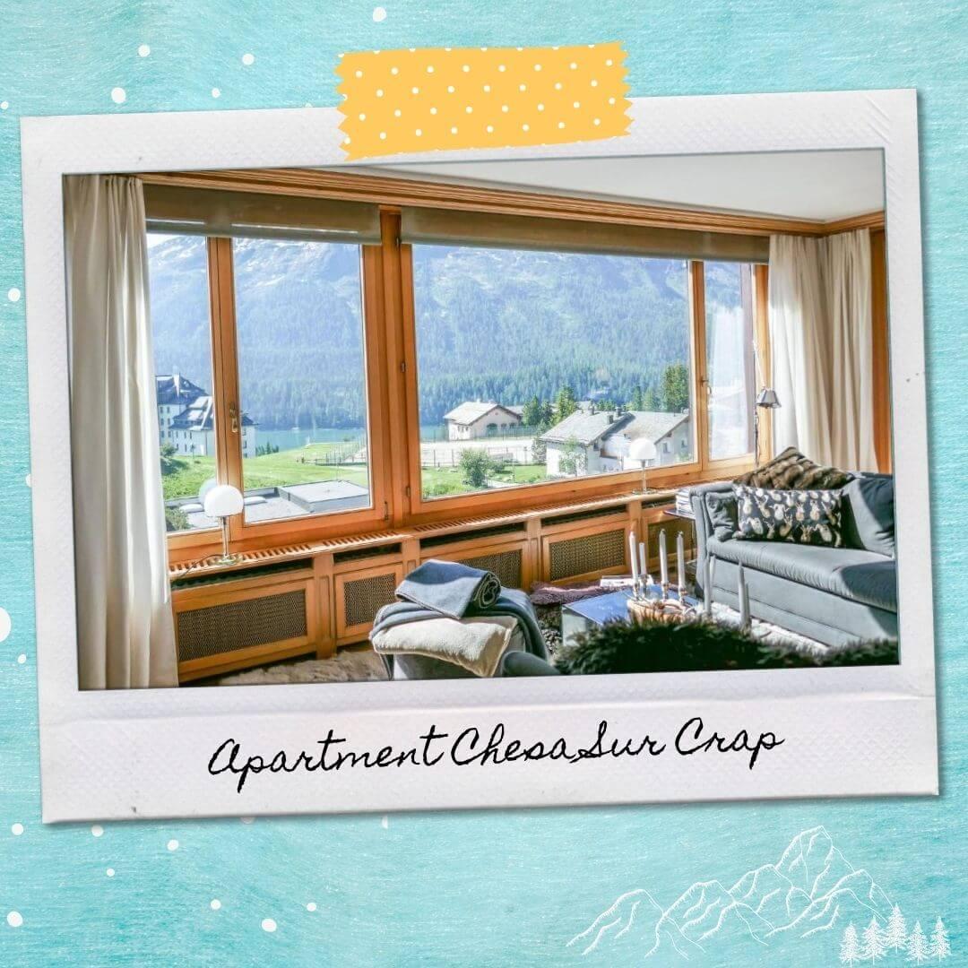 Hotels Near St Moritz Train Station - Apartment Chesa Sur Crap
