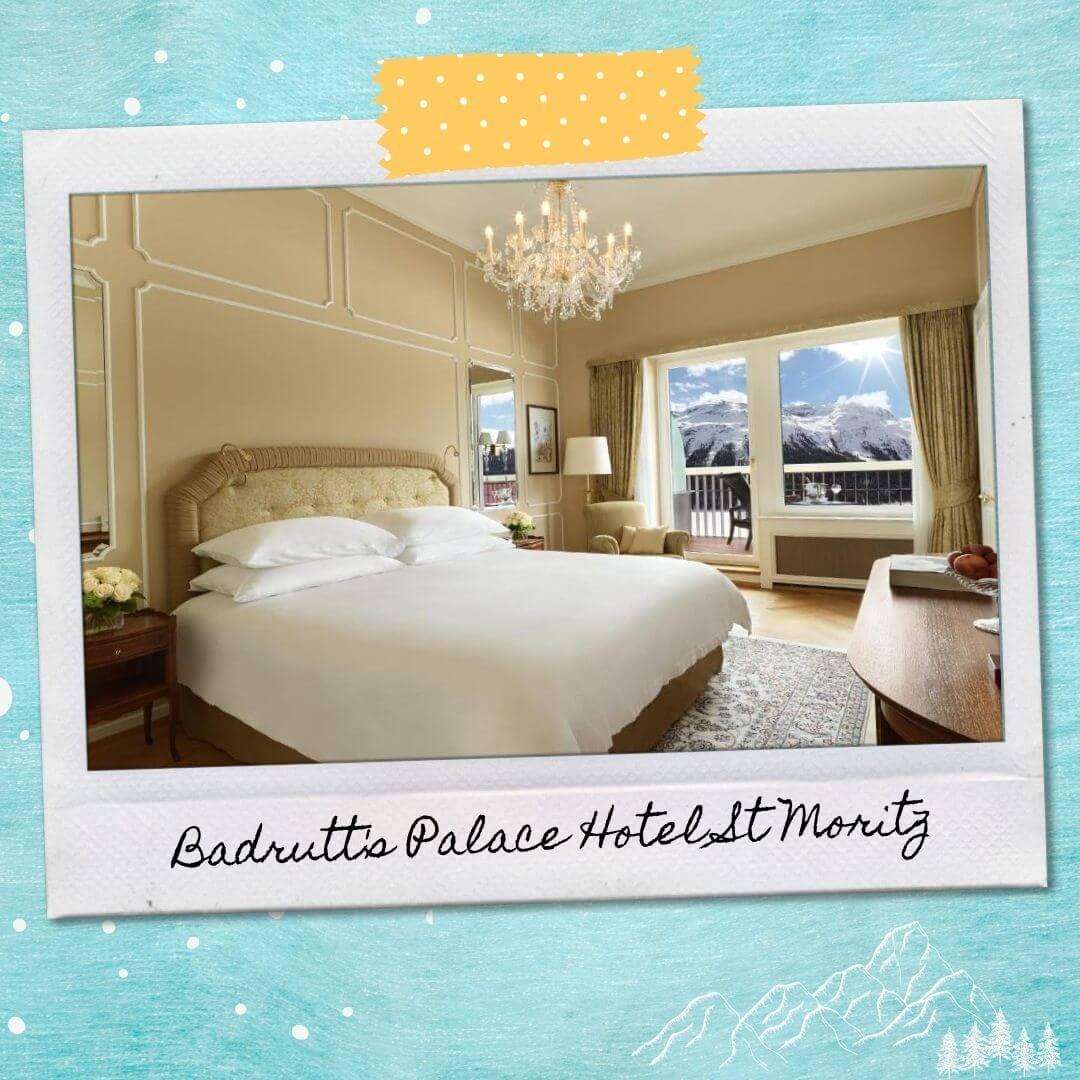 Hotels Near St Moritz Train Station - Badrutt's Palace Hotel St Moritz