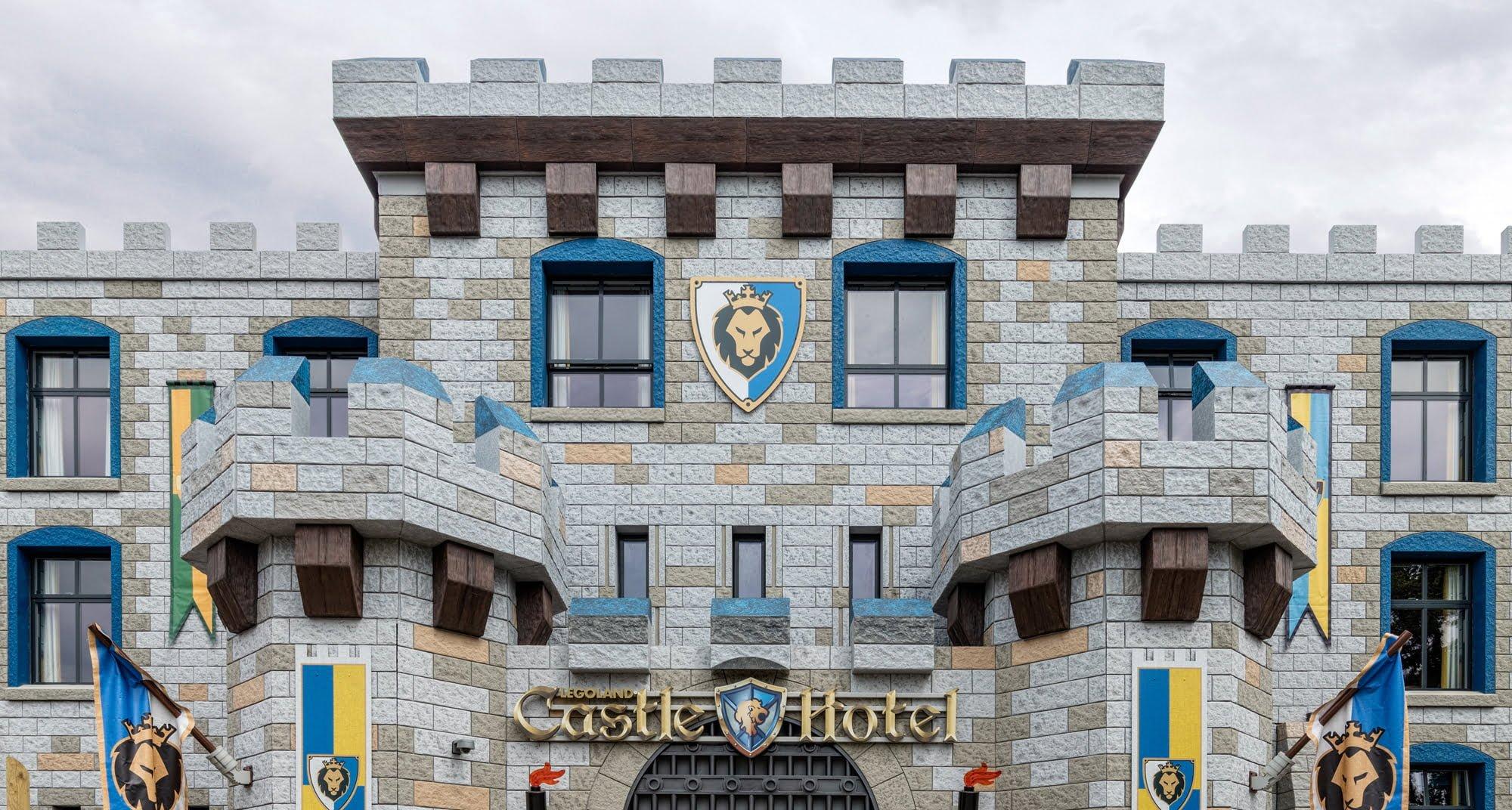 The LEGOLAND Castle Hotel Is Complete SPACE International Hotel Design