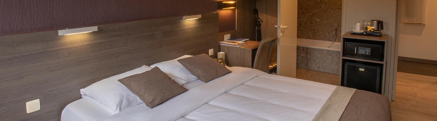 Standaard kamer hotel St Pol Knokke