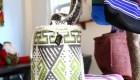 mochila tejido símbolos indígenas - Backpack knitted fabrics indigenous symbols