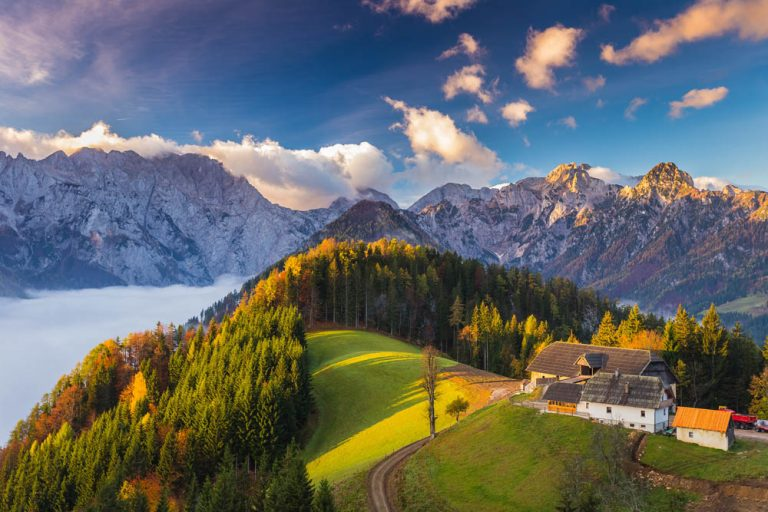 Slovenia mountains