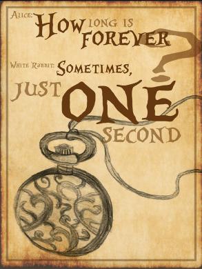 One Second - Alice In Wonderland - Lewis Carrol