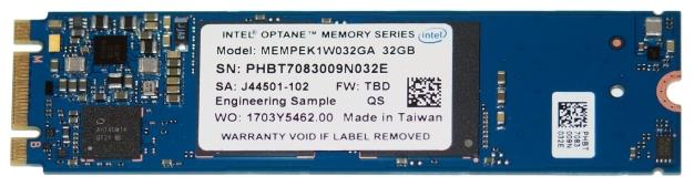 Intel optan bellek 1