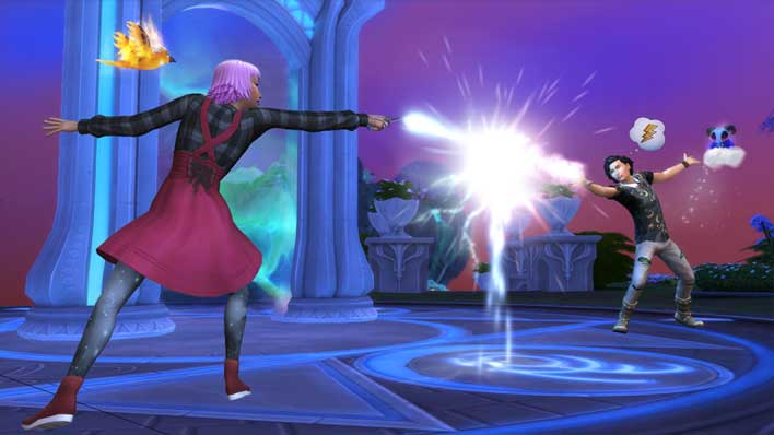 The Sims 4 Realm Of Magic Pack Lets Your Sim Wield