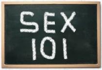 Chalkboard w/SEX 101