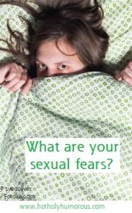 Woman hiding under sheets