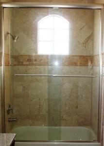 Standard bathtub shower