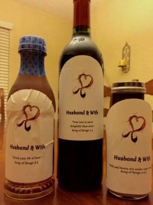 Wine Label Sample