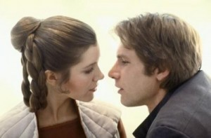 Princess Leia & Han Solo from Return of the Jedi