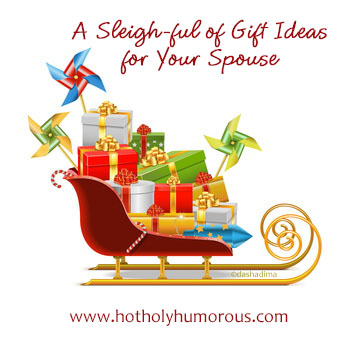 A Sleigh-ful of Gift Ideas for Your Spouse - sleigh with presents inside