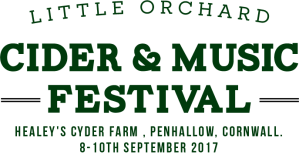 Poster for Little Orchard Cider & Music Festival