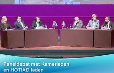 Paneldebat met Kamerleden en HOTIAD leden