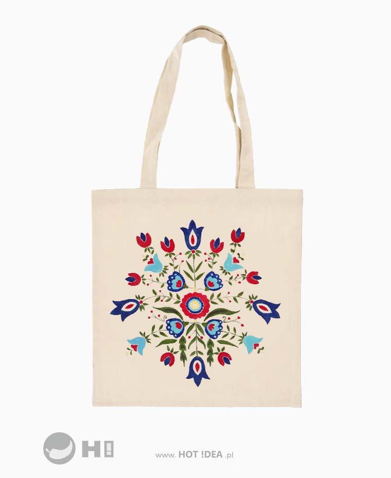 eko torba bawełniana ręcznie malowana zero vaste 001
