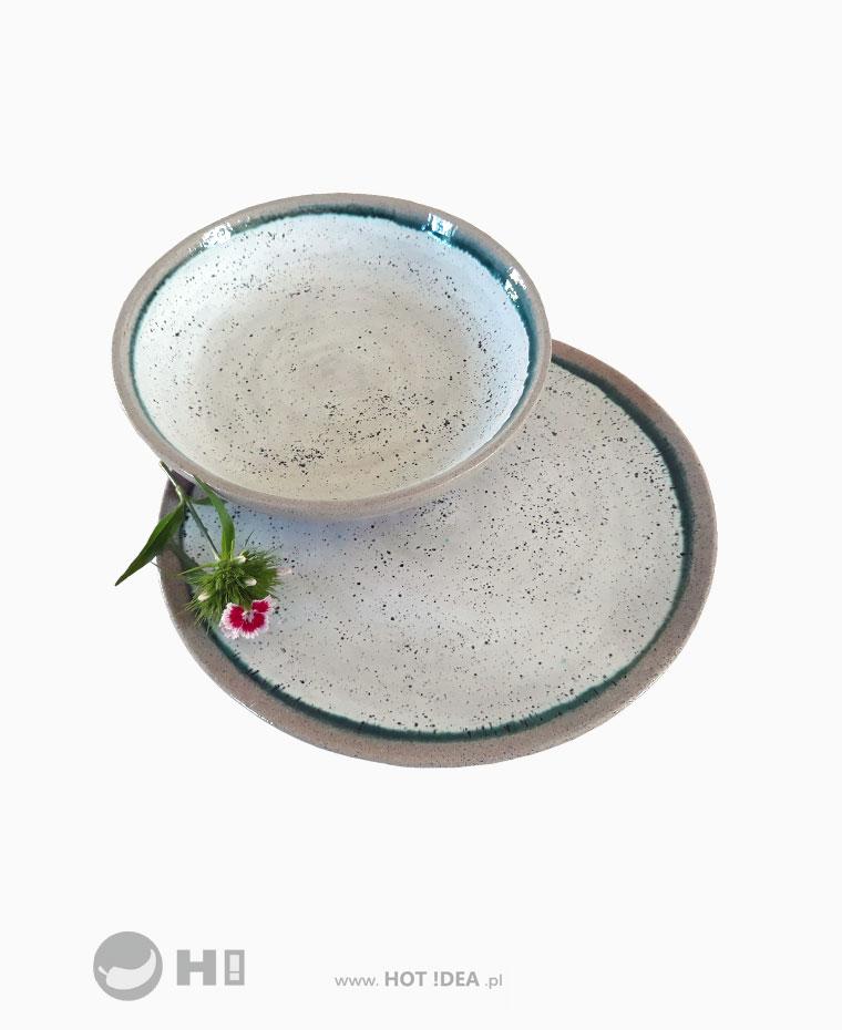 Talerz ceramiczny irish clay