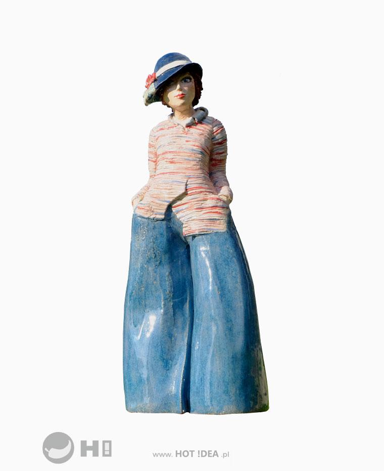 Figurka ceramiczna, rzeźba ceramiczna - Magdalena Pelczar-Wieczorek