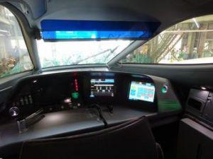 N700A運転席