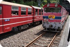 アプト式機関車と長島ダム見学ツアーのレポ&感想!見所や景色を紹介!