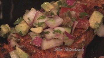 Hot Kitchen Salmon Avocado Salsa Recipe