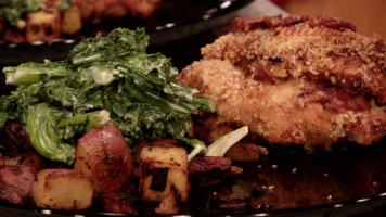 Hot Kitchen Cajun Stuffed Chicken Recipe Demonstration