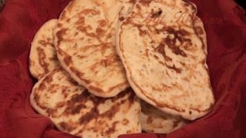 Hot Kitchen Naan Bread Recipe Demonstration