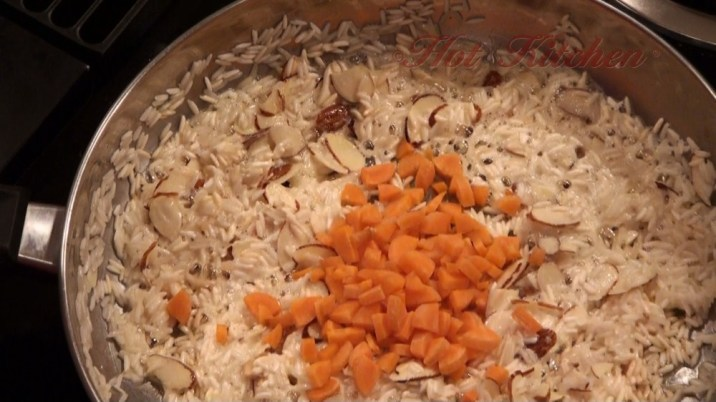 Hot Kitchen Saffron Rice Pilaf Recipe Demonstration