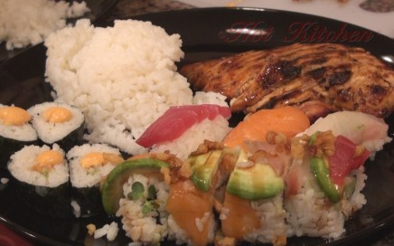 Hot Kitchen Sushi and Bento Recipe Demonstration