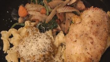 Hot Kitchen Butternut Chicken and Curried Vegetables Chicken Recipe Demonstration