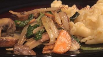 Hot Kitchen Curried Vegetables Chicken Recipe Demonstration