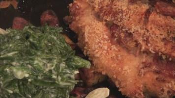 Hot Kitchen Cajun Stuffed Chicken Recipe Demonstration