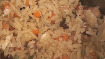 Hot Kitchen Pinenut Orzo Recipe Demonstration