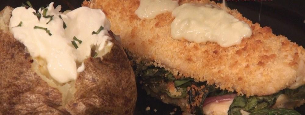 Hot Kitchen Chicken Cordon Bleu Recipe Demonstration