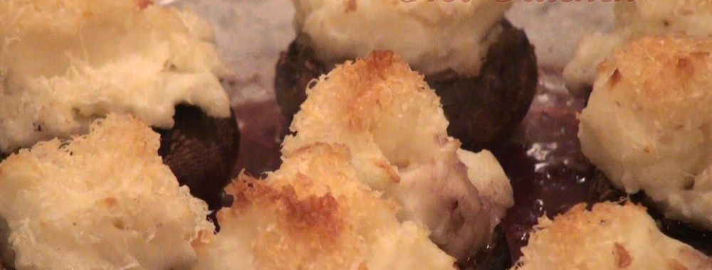 Hot Kitchen Potato Stuffed Mushrooms Recipe Demonstration