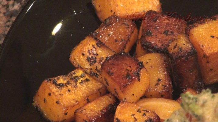 Hot Kitchen Glazed Butternut Squash Recipe Demonstration