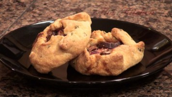 Hot Kitchen Fig and Mushroom Gallettes Recipe Demonstration
