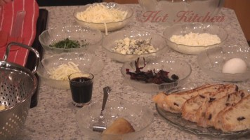 Hot Kitchen Gorgonzolla Manicotti Recipe Demonstration