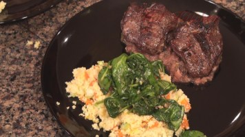 Hot Kitchen Mint Apple Lamb Chops Recipe Demonstration