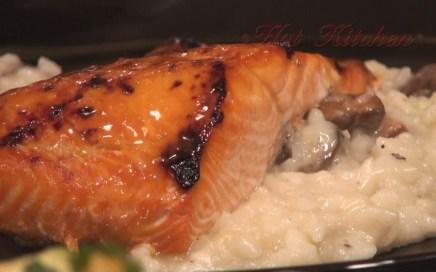 Hot Kitchen Orange Glazed Salmon Recipe Demonstration