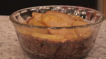 Hot Kitchen Brandied Pear Bleu Cheesecake Recipe Demonstration
